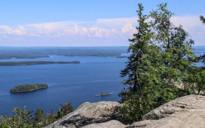 La région des lacs en Finlande