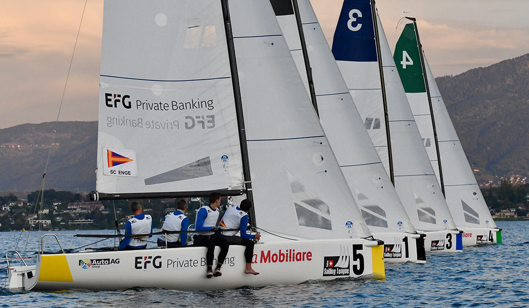 Swiss Sailing League, November 2018