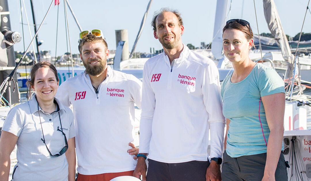 An Bord beim Roesti Sailing Team!