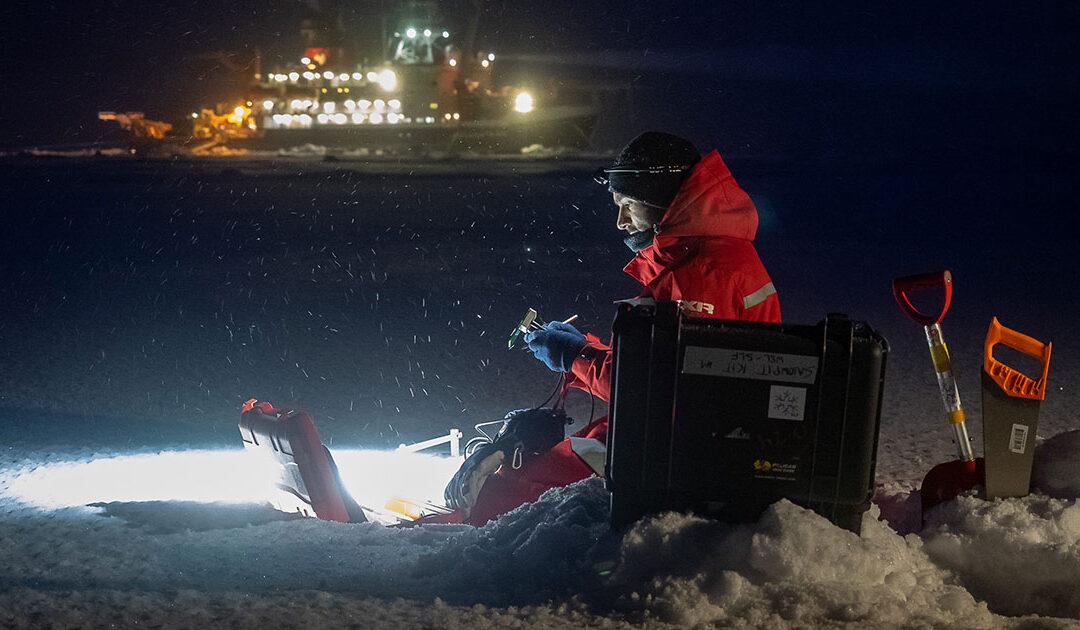 Eiskaltes Abenteuer